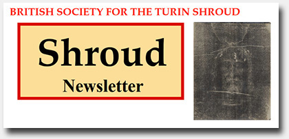 Late Breaking Website News!  Shroud of Turin Blog