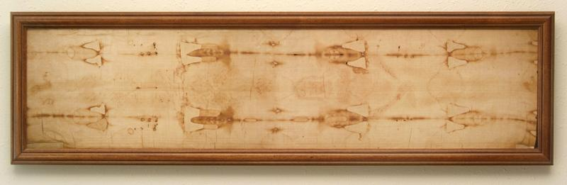 Framed Miniature Shroud Replica - Click on the image for more information or to order.